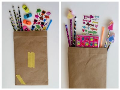 such a fun treat to send! Back to school snail mail for kids