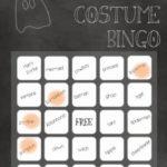 Halloween Costume Bingo!