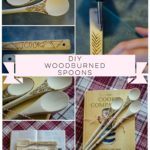 DIY Woodburned Spoons: A White Elephant Gift