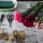 DIY: Ombre Mini Carnation Arrangements