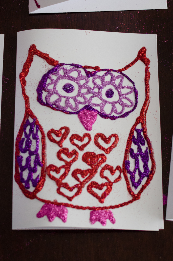 Host a Valentine Card Making Party - lemonthistle.com