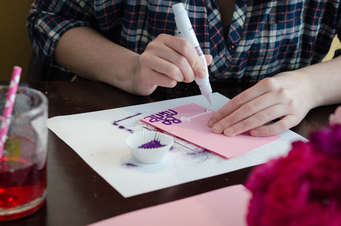 Host a Valentine Card Making Party - lemonthistle.com