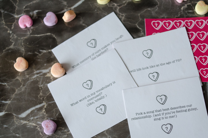 Free Printable Valentines Table Topics - lemonthistle.com