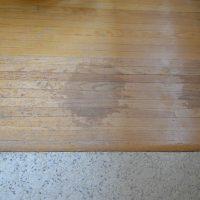 Hardwood Damage Before - lemonthistle.com