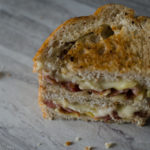 Sweet Apple, Maple Bacon & Brie Grilled Cheese