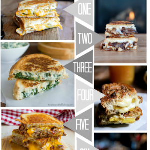 Grilled Cheese Savoury - lemonthistle.com