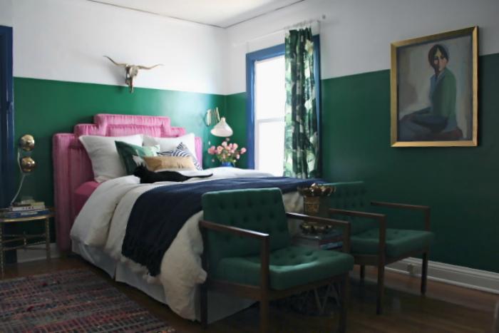 Two Toned Walls Inspiration - lemonthistle.com