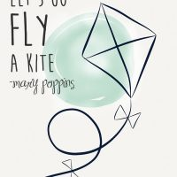 Let's Go Fly a Kite- free printable - lemonthistle.com