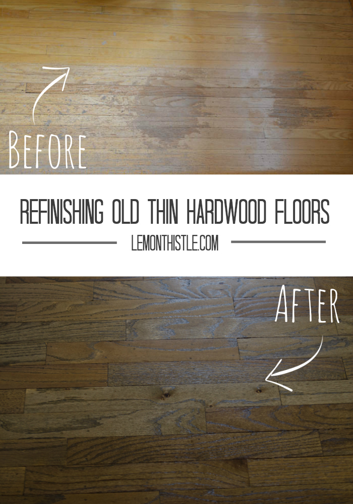 Refinishing Hardwood Floors   Lemonthistle.com