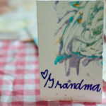 Finger Painting for Mothers Day