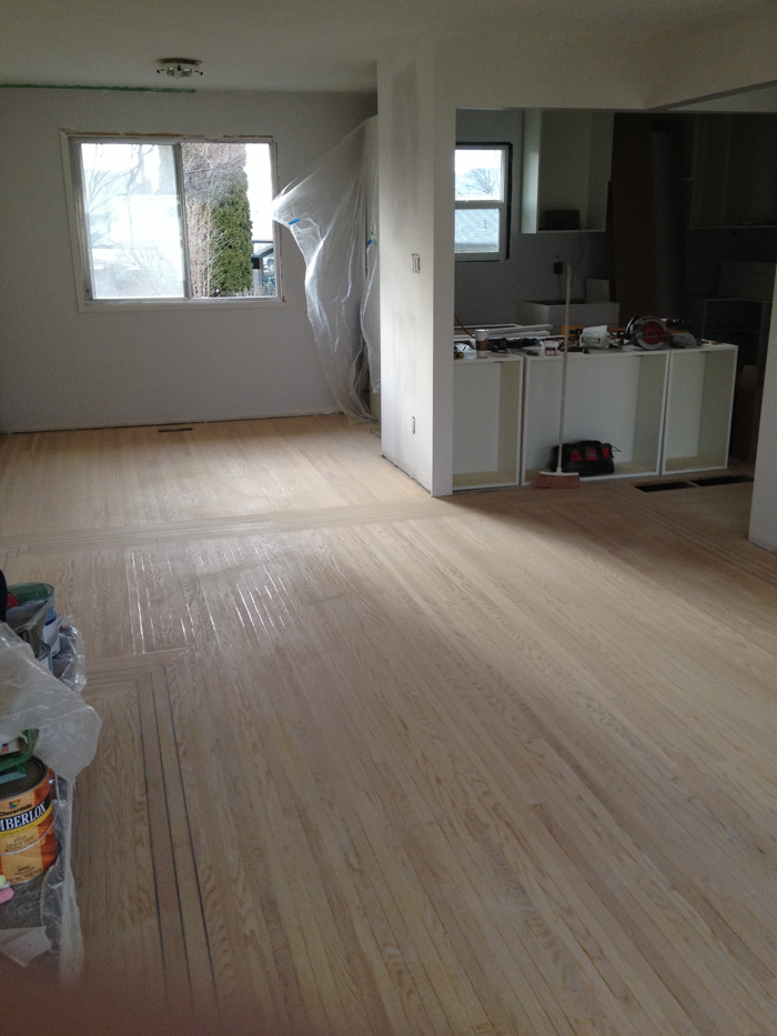 Refinishing Old Thin Hardwood Floors Lemon Thistle