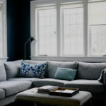 Master Bedroom Inspiration: Navy Walls
