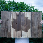 DIY Canada Day Pallet Art - lemonthistle.com