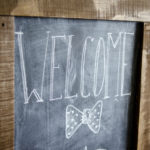 DIY Giant Chalkboard - lemonthistle.com