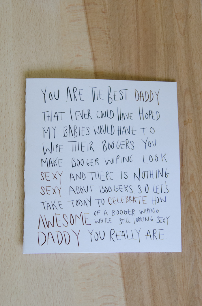 Awkward Fathers Day Cards: two free printables! - lemonthistle.com