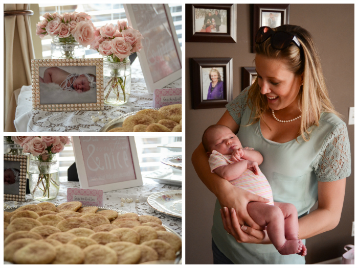Pearls and Lace Baby Shower - lemonthistle.com