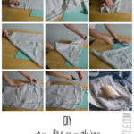 Two Dollar DIY Napkins & Wall Hanging