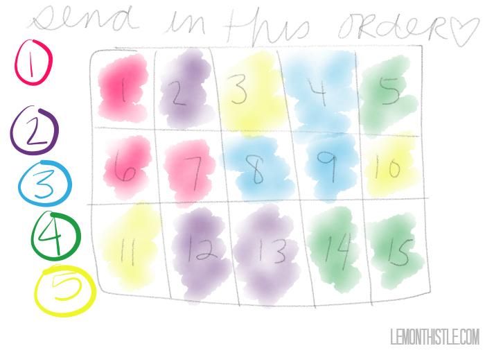Snail Mail them a Puzzle Love Note! - lemonthistle.com