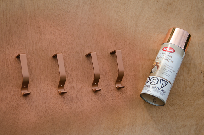 DIY Salvage copper curtain rods - lemonthistle.com