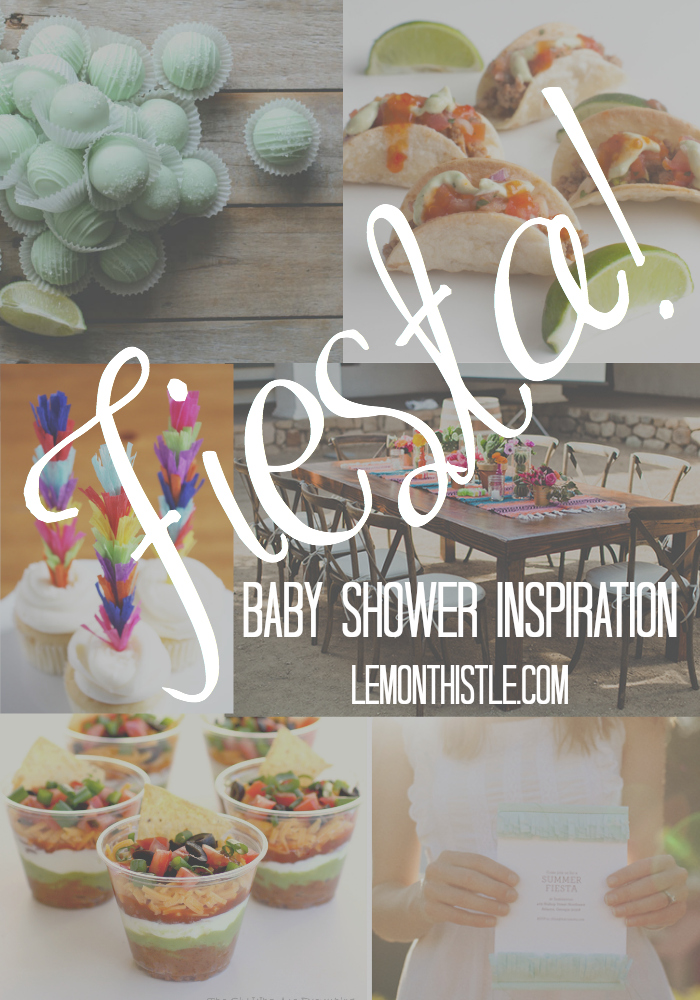 Fiesta! Baby Shower Inspiration - lemonthistle.com