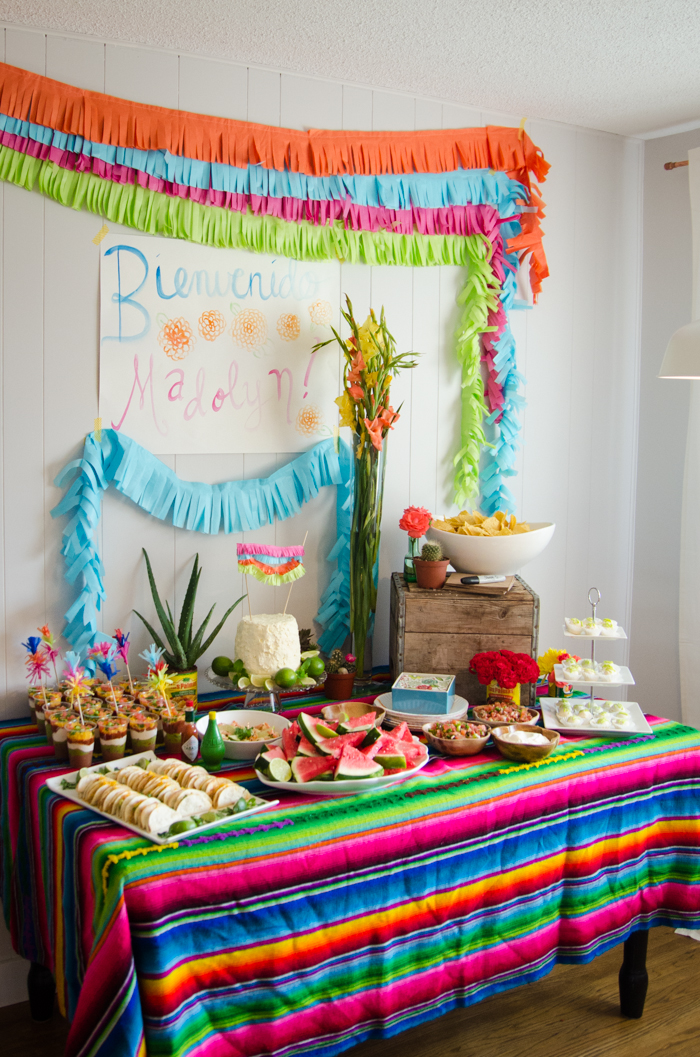 fiesta a super fun baby shower   lemon thistle