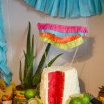 Creamy Lime Watermelon Cake