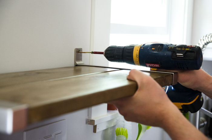 Ikea Hack! DIY Open Shelving - lemonthistle.com
