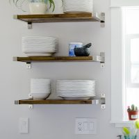 Ikea Hack! DIY Open Shelving - lemonthistle.com