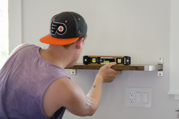 Ikea Hack! DIY Open Shelving- lemonthistle.com