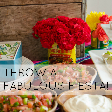 THROW A FABULOUS FIESTA - BABY SHOWER STYLE