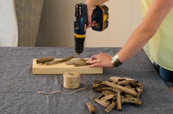 DIY Collected Driftwood Garland- Video Tutorial