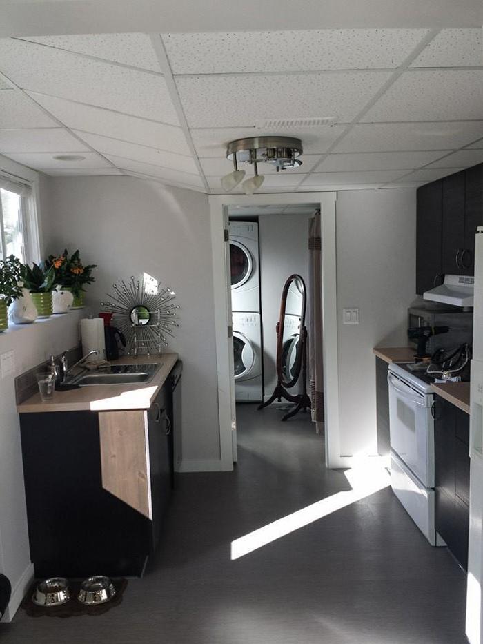 Junk Room to Basement Suite