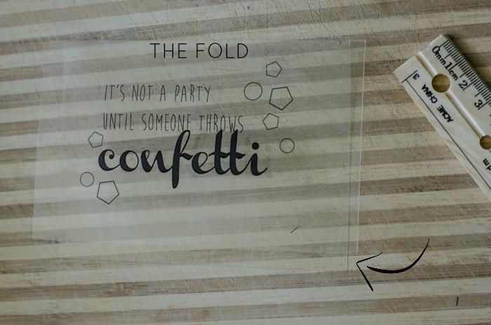 What a fun idea! DIY Translucent Confetti Packets - lemonthistle.com