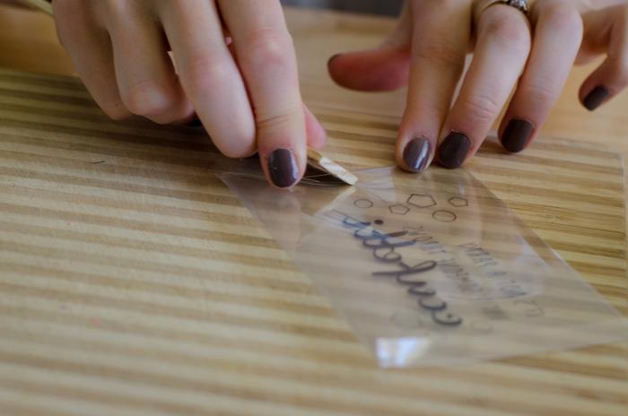 DIY Translucent Confetti Packets - lemonthistle.com