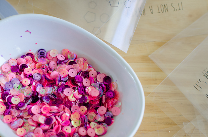 DIY Translucent Confetti Packets - lemonthistle.com