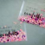 DIY Translucent Confetti Packets