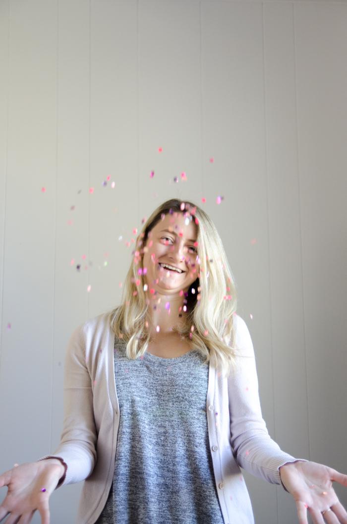 Such a fun idea! DIY Translucent Confetti Packets