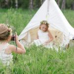 Magical Little Girls' Birthday Photoshoot