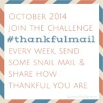 #thankfulmail Challenge and Printable!