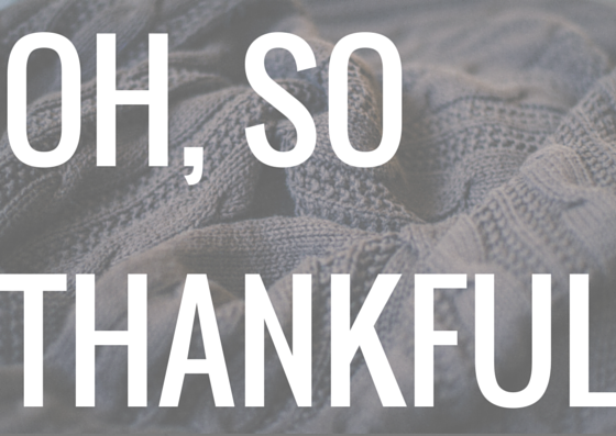 Oh So Thankful Free Printable