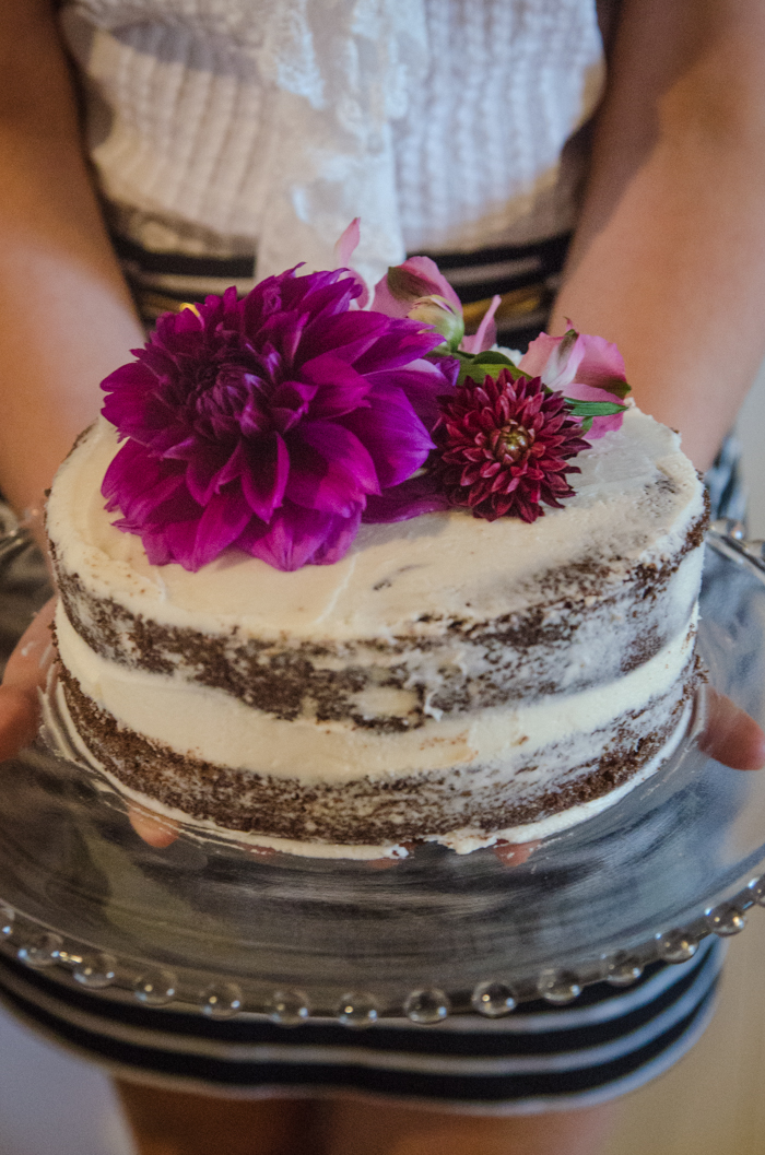 DIY Grocery Store 'Naked' Cake Makeover