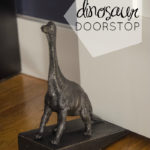 Over Here: DIY Dino Doorstop