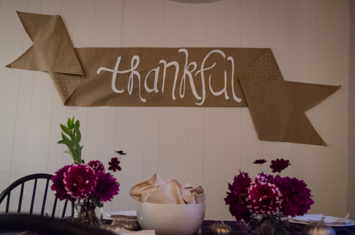 Friendsgiving Tablescape & The start of a tradition