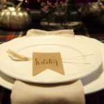 Love the simple place setting- perfectly Thanksgiving! Friendsgiving 2014- the start of a tradition