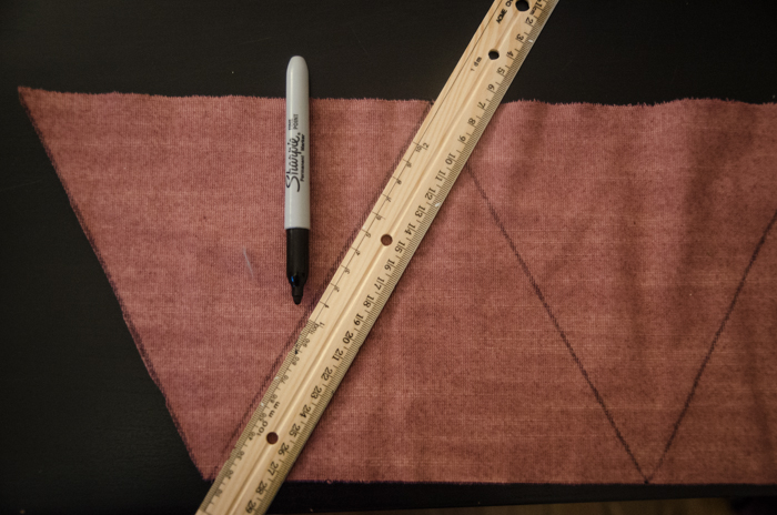 DIY Handsewn Simple Bunting