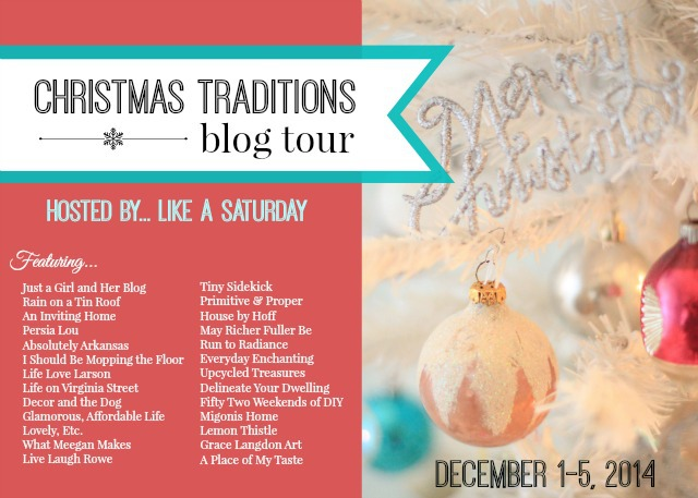Christmas Traditions Blog Tour