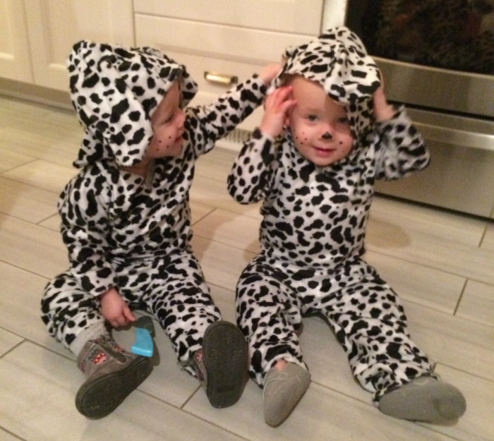Twin Dalmation Halloween Costumes
