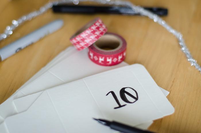 DIY Magnetic Advent Calendar