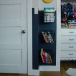 Books on Hooks: Simple Storage Solution