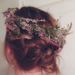 DIY Floral Crowns and Leaf Garland